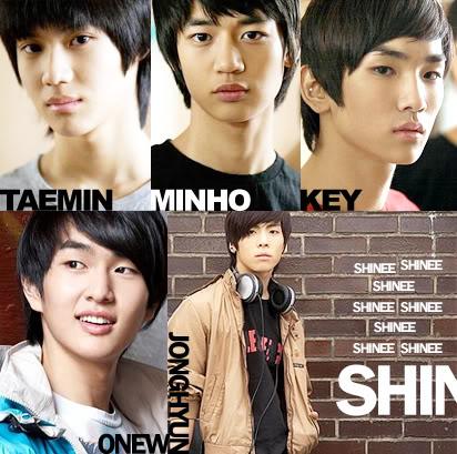 Shinee Names